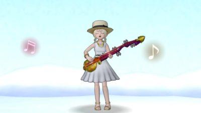 【ドラクエ10】しぐさ「リュートを奏でる」