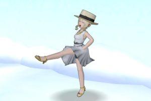 【ドラクエ10】しぐさ「ラインダンス」