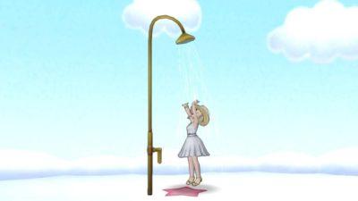 【ドラクエ10】しぐさ「シャワー」