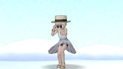 【ドラクエ10】しぐさ「写真を撮る」