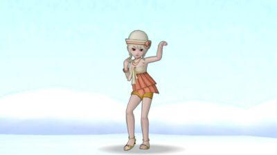 【ドラクエ10】しぐさ「ベリーダンス」
