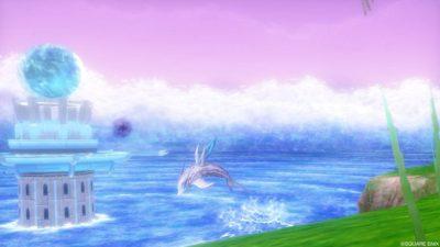 【ドラクエ10】ヒエログリフ「水しぶき舞う海の精」(水の領界)