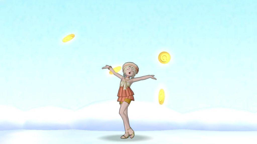 【ドラクエ10】しぐさ「ゴールドシャワー」