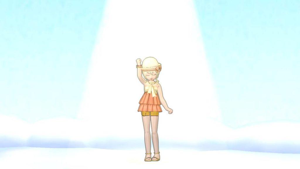 【ドラクエ10】しぐさ「ゴールデンライト」