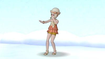 【ドラクエ10】しぐさ「盆踊り」
