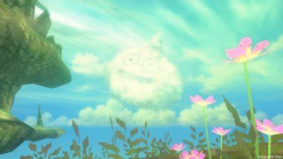 【ドラクエ10】ヒエログリフ「静かな蒼穹のほほえみ」(嵐の領界)