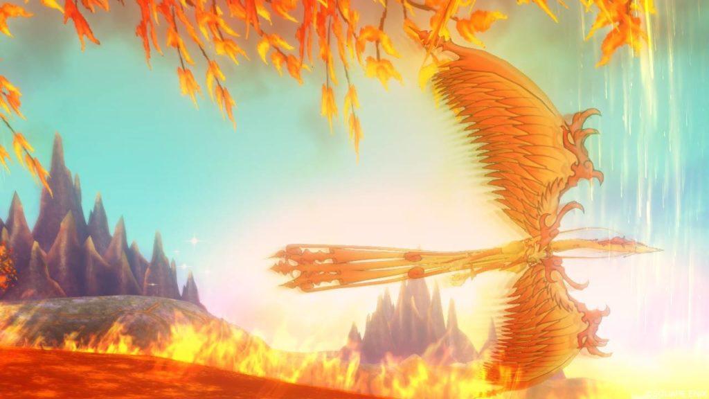 【ドラクエ10】ヒエログリフ「炎うず巻く聖なる鳥」(炎の領界)
