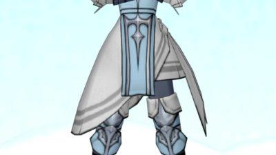 【装備】防具 >からだ下「博愛騎士のよろい下」