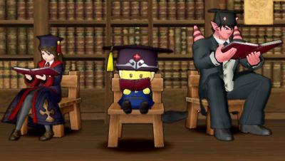 【ドラクエ10】しぐさ「座って本を読む」