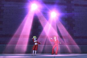【ドラクエ10】しぐさ「ダンシングライト赤」