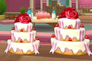 【ドラクエ10】しぐさ > ネタ「ケーキ」