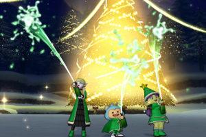 【ドラクエ10】しぐさ「お祝いシャワー緑」