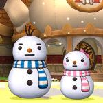 【ドラクエ10】しぐさ「雪だるま」