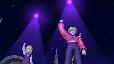 【ドラクエ10】しぐさ「ゴールデンライト紫」