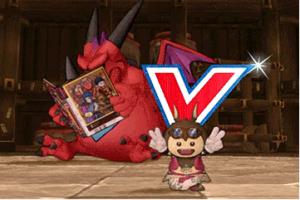 【ドラクエ10】しぐさ「VJの飛び出すV」