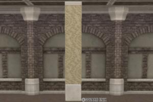 【ハウジング】家具 > かべ「ダマスク模様の壁」