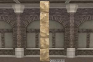 【ハウジング】家具 > かべ「古びた石壁」