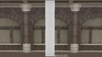 【ハウジング】家具 > かべ「白亜の壁」