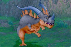 【ドラクエ10】モンスター > ドラゴン系「テラノライナー」