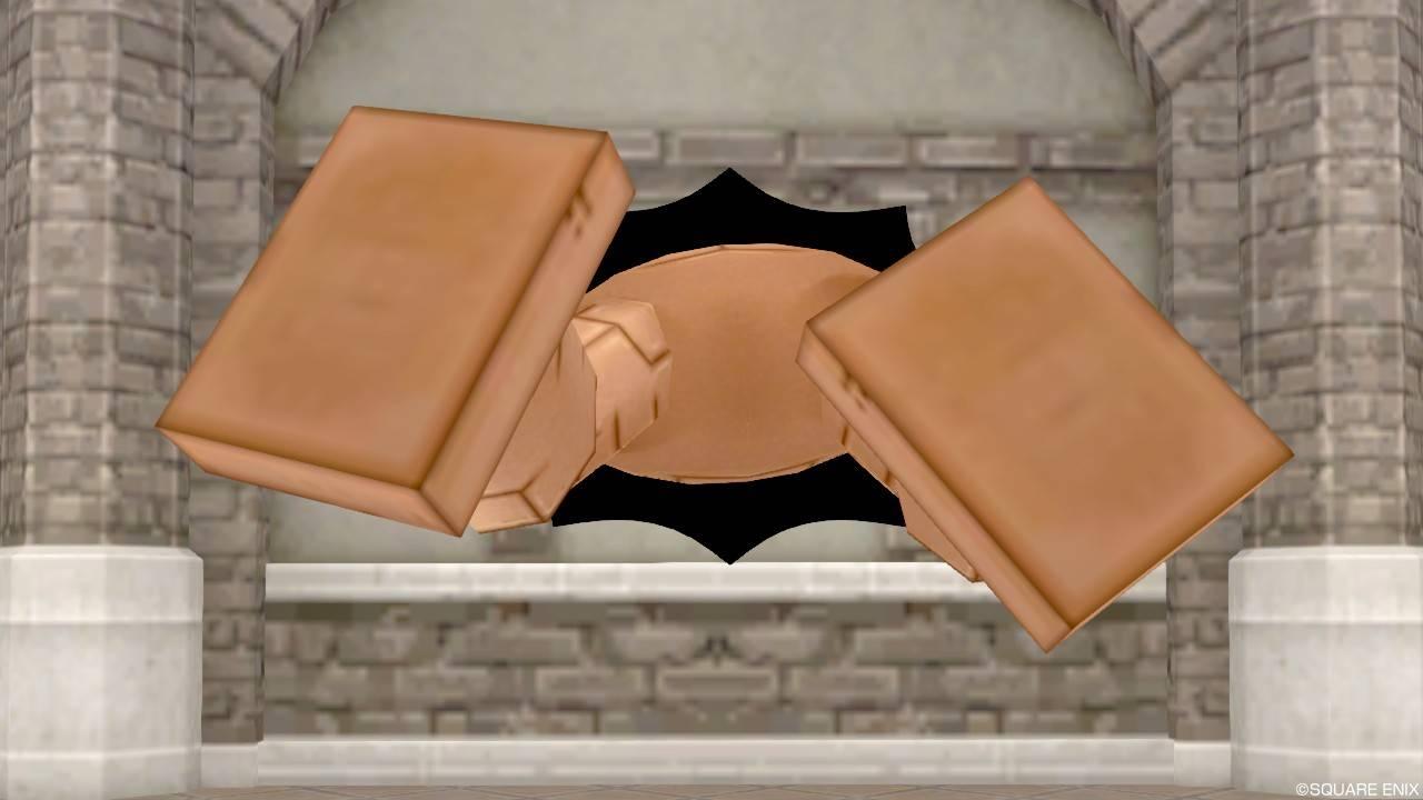 【ハウジング】家具 > 壁かけ家具「壁かけ穴ゴーレム」