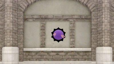 【ハウジング】家具 > 壁かけ家具「壁かけ穴ナスビナーラ」