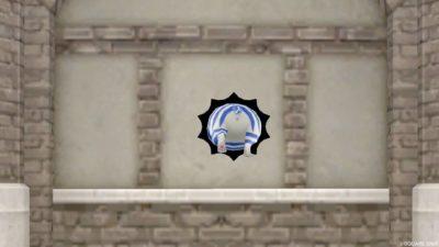 【ハウジング】家具 > 壁かけ家具「壁かけ穴プリズニャン」