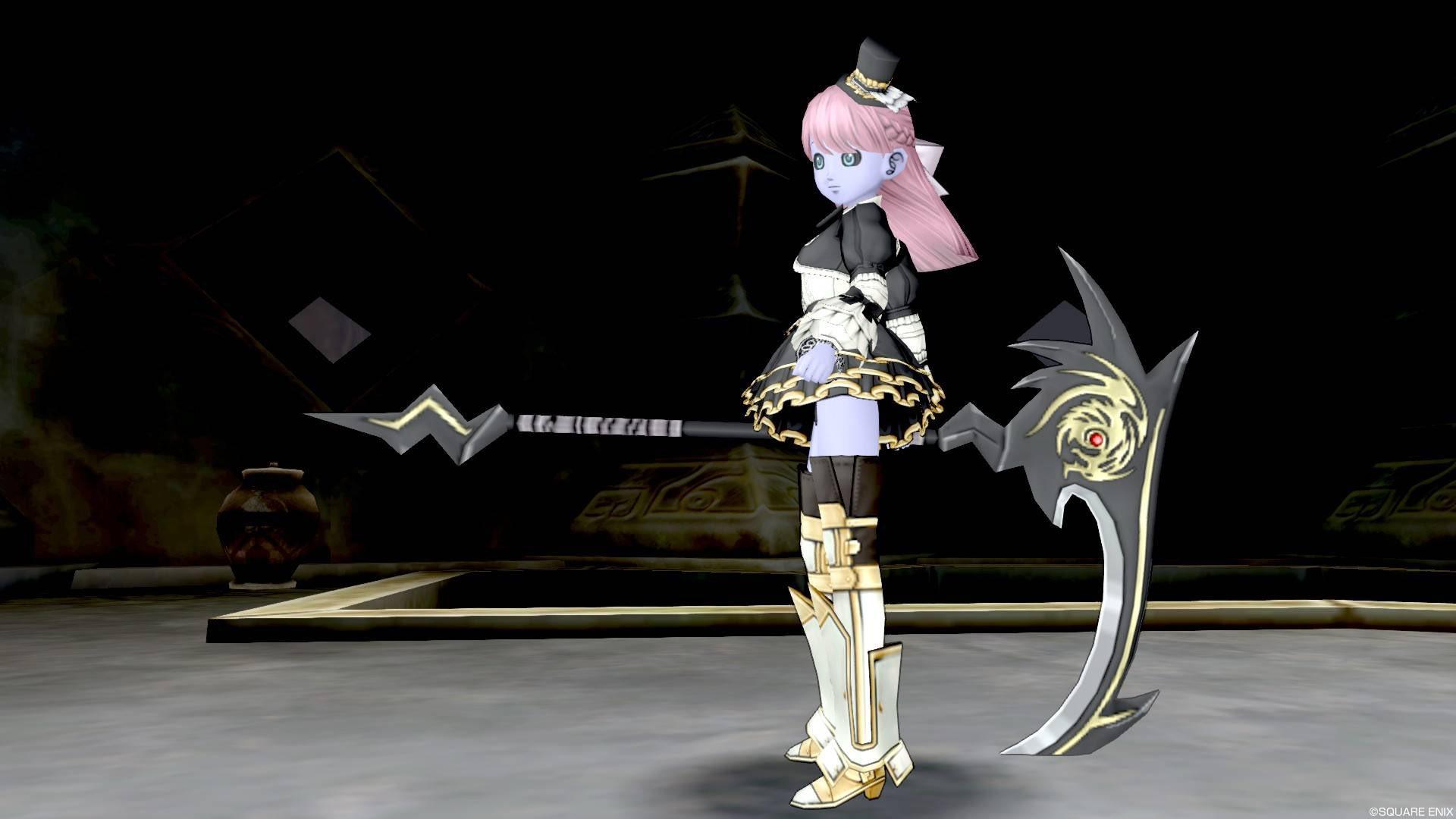 【装備】武器 > 鎌「常闇の鎌」