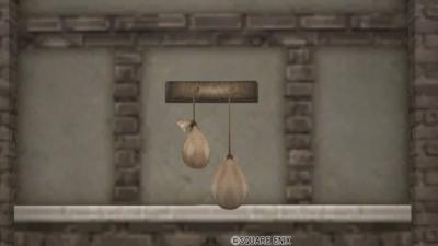 【ハウジング】家具 > 壁かけ家具「壁かけ布袋」