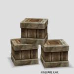 【ハウジング】家具 > その他「木箱セット」
