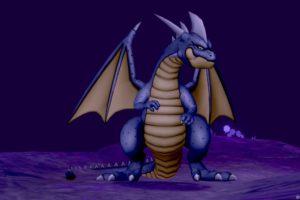 【ドラクエ10】モンスター >ドラゴン系「ブラックドラゴン」