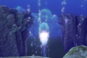 【ドラクエ10】ヒエログリフ「水底にたゆたうもの」(水の領界)