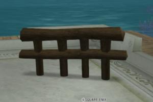 【ハウジング】庭具 > その他(庭)「便利な木柵」