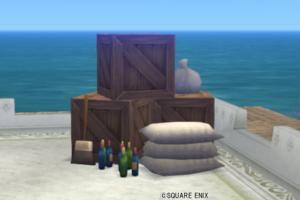 【ハウジング】庭具 > その他(庭)「よくばり木箱セット」