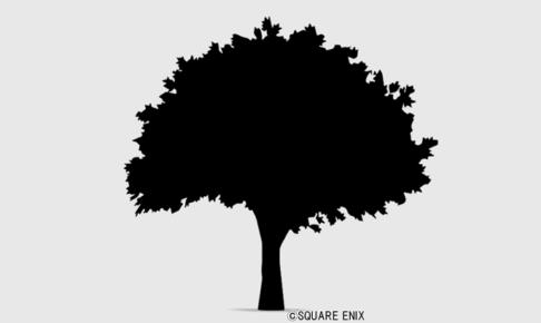 【ハウジング】家具 > その他「シルエット・樹木」