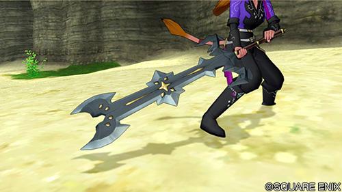 【装備】武器 > 両手剣「ベルセルクブレード」