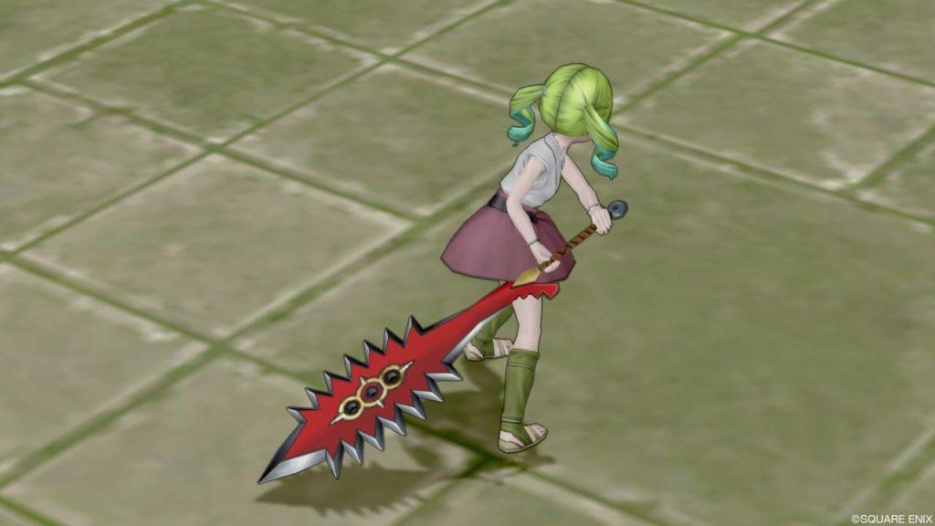 【装備】武器 > 両手剣「ケイオスブレード」