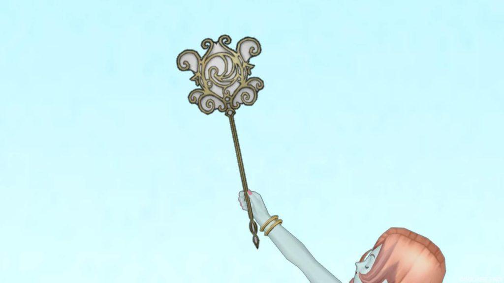 【装備】武器 > スティック「聖王のスティック」