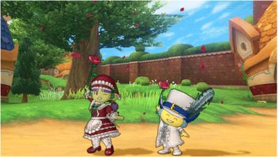 【ドラクエ10】しぐさ「バラの魔法」