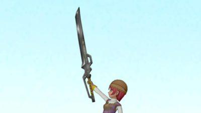 【装備】武器 > 両手剣「シャドウエッジ」