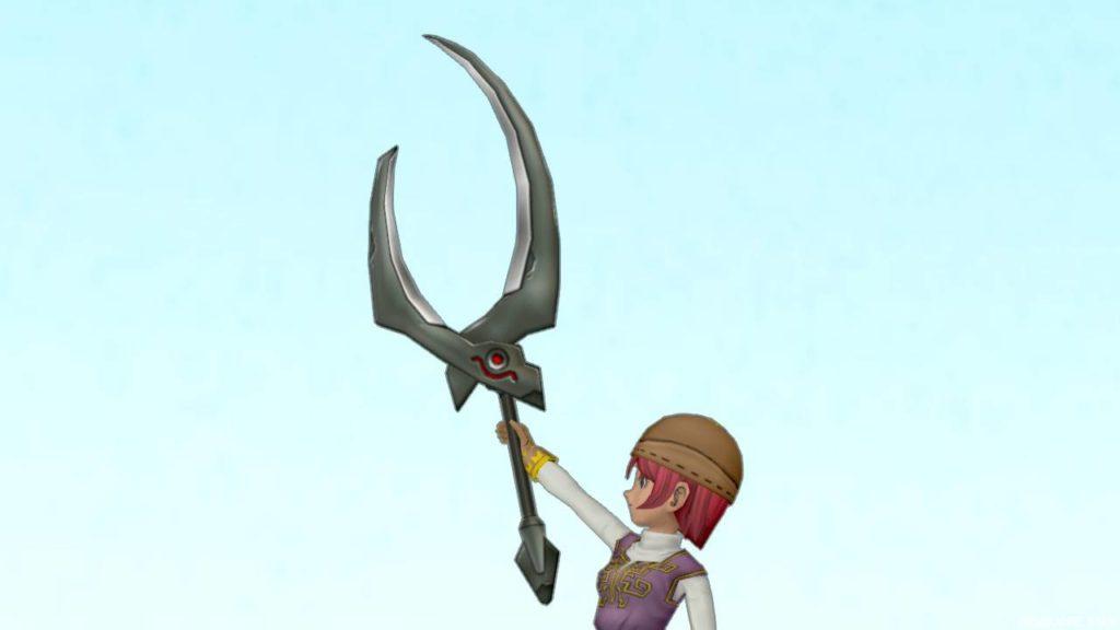 【装備】武器 > 両手剣「おおばさみ」