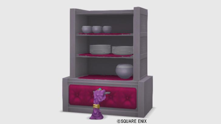 【ハウジング】家具 > 棚「あやしい食器棚」