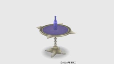 【ハウジング】家具 > つくえ「ベラストル家丸テーブル」