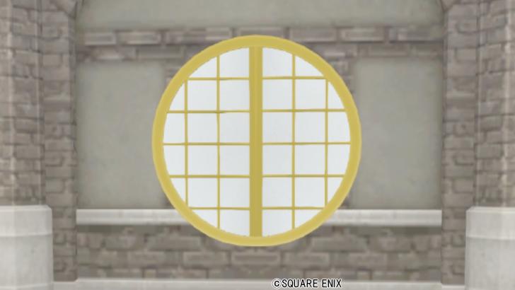 【ハウジング】家具 > 壁かけ家具「壁かけ四季の丸窓」