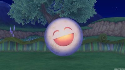 【ハウジング】庭具 > 像・人形(庭)「お月サマーの像」