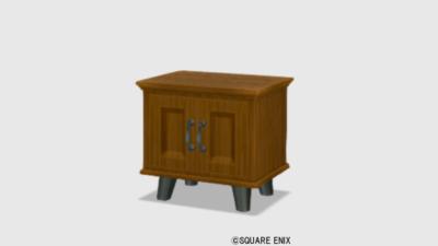 【ハウジング】家具 > 収納「純喫茶のキャビネット」