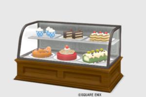 【ハウジング】家具 > 棚「ケーキショーケース」