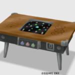 【ハウジング】家具 > つくえ「純喫茶のテーブル筐体」