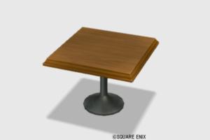 【ハウジング】家具 > つくえ「純喫茶のテーブル」