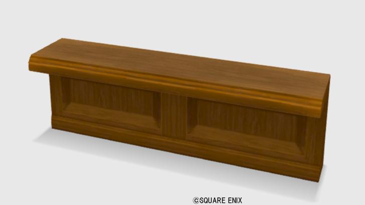 【ハウジング】家具 > つくえ「純喫茶のカウンター」