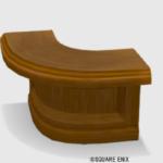 【ハウジング】家具 > つくえ「純喫茶のL字カウンター」